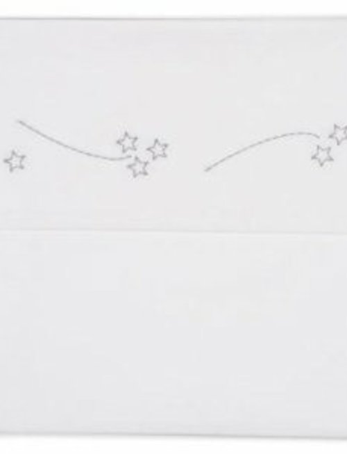 Koeka Koeka Laken Falling Stars 110x140cm grey