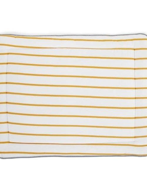 Childhome Childhome Parklegger Jersey Ochre Stripes 75 x 95 cm