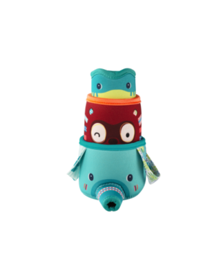 Lilliputiens Lilliputiens set van 3 Badbekers - Junglecups
