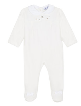 Absorba Absorba Pyjama Swarovski Ecru