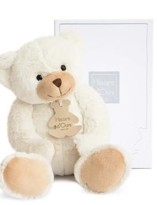 Histoire d'Ours Histoire d'Ours Teddybeer Ivoor 35 cm