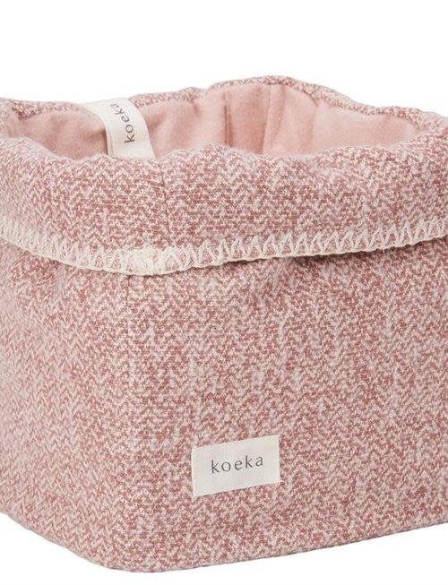Koeka Koeka Vigo Opbergmand Old Pink