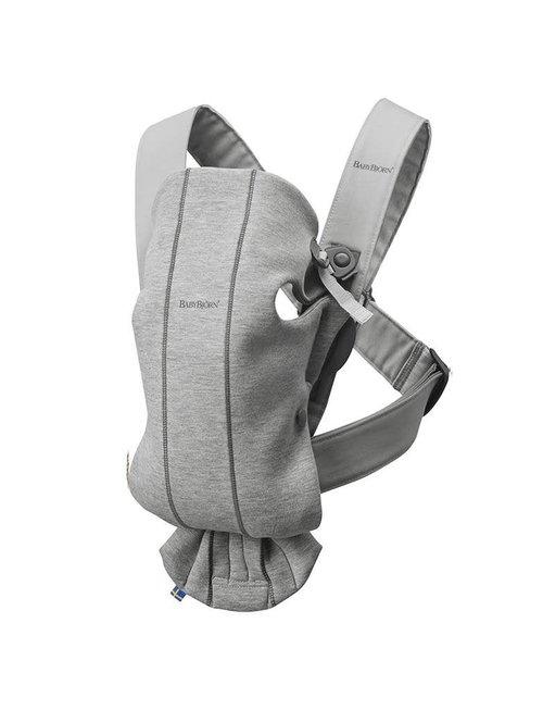 Babybjorn Babybjorn Draagzak Mini Light Grey, 3D Jersey