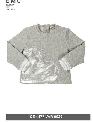 EMC EMC Sweater Zilveren Hart