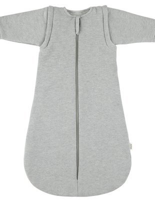 Trixie Trixie Slaapzak met afritsbare mouwen 70 cm Grain Grey