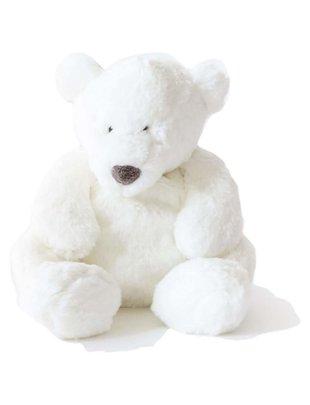 Dimpel Dimpel Witte Knuffelbeer Esteban 45 cm