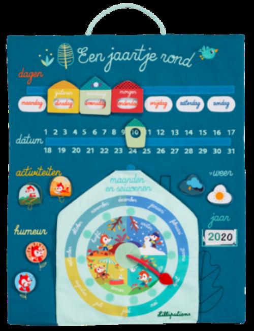 Lilliputiens Lilliputiens Een Jaartje Rond - Mijn Eerste Kalender