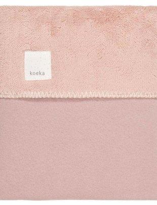 Koeka Deken Runa Teddy Old Pink 75 x 100cm
