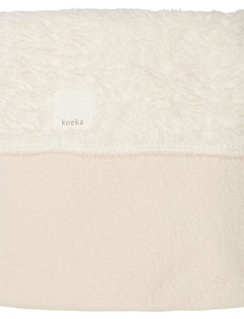 Koeka Koeka Deken Rune Teddy Warm White (75 x 100)