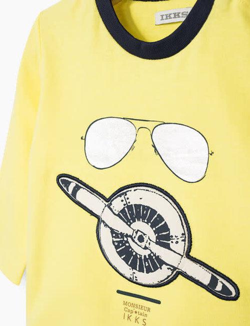 IKKS IKKS T-shirt Jongens Met Pilotenbril