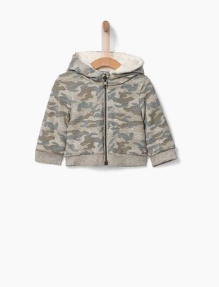 IKKS IKKS Vest Omkeerbaar Camouflage