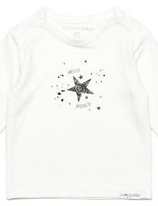 Noppies Noppies T-shirt Unisex Lux Snow White