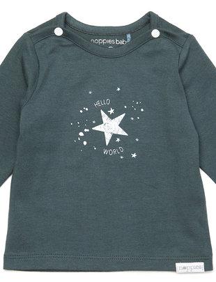 Noppies Noppies T-shirt Unisex Lux Dark Slate