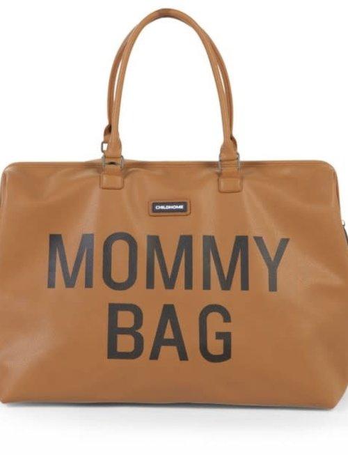 Childhome Childhome Mommy Bag Verzorgingstas - Lederlook  Bruin