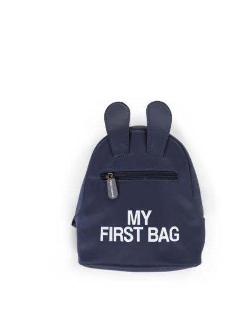 Childhome Chidlhome Kinderrugzak My First Bag - Blauw
