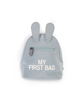 Childhome Childhome Kinderrugzak My First Bag - Grijs