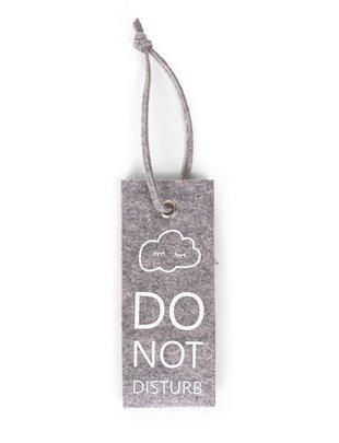 Childhome Childhome felt doorhanger Do Not Disturb Grey