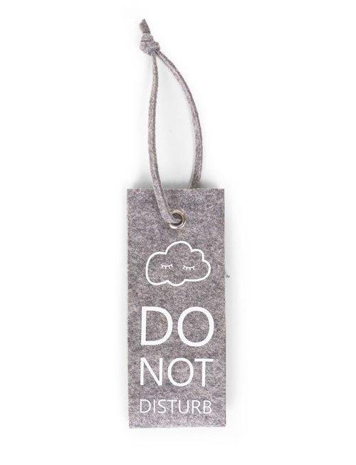 Childhome Childhome Vilten Deurhanger Do Not Disturb Grey