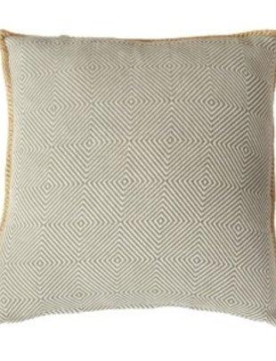 Quax Quax Kussen Ethnic 45 x 45 cm Khaki/Grey