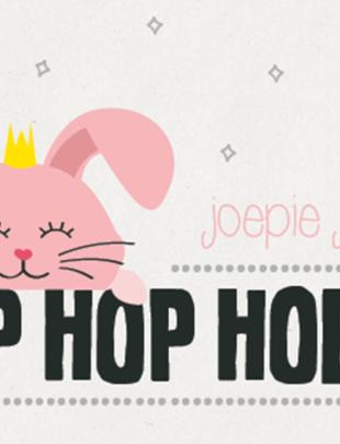 "Leuke Kaartjes Leuke Kaartjes ""Joepie Jarig! Hop Hop Hoera"""