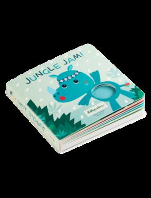 Lilliputiens Lilliputiens Jungle Jam - Voelboek met geluiden
