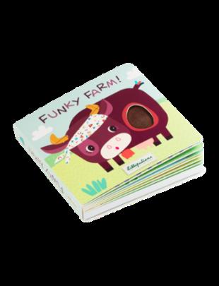Lilliputiens Lilliputiens Voelboek met geluiden Funky Farm