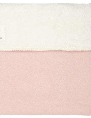 Koeka Koeka Deken Vancouver Teddy Shadow Pink/Natural 75 x 100