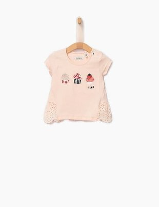 IKKS IKKS T-shirt met cupcakes
