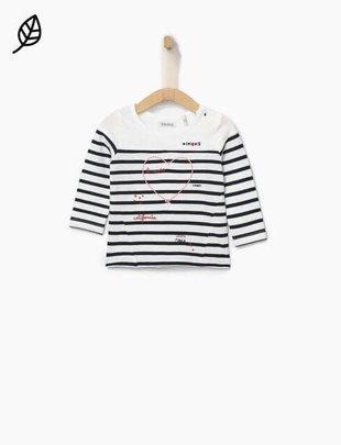 IKKS IKKS t-shirt matrozen met hartje voor meisjes