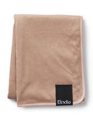 Elodie Elodie Pearl Velvet Fleece Deken Faded Rose