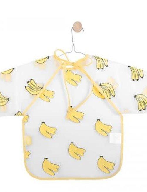 Jollein Jollein Slab Waterproof Plastic met mouw bananas