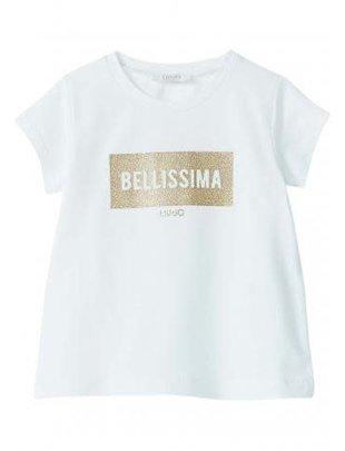 Liu Jo Liu Jo t-shirt Bellissima met glitter