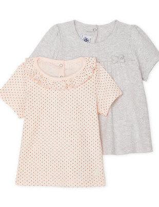 Petit Bateau Petit Bateau T-shirt set van 2