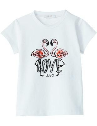 Liu Jo Liu Jo T-shirt Flamingo's