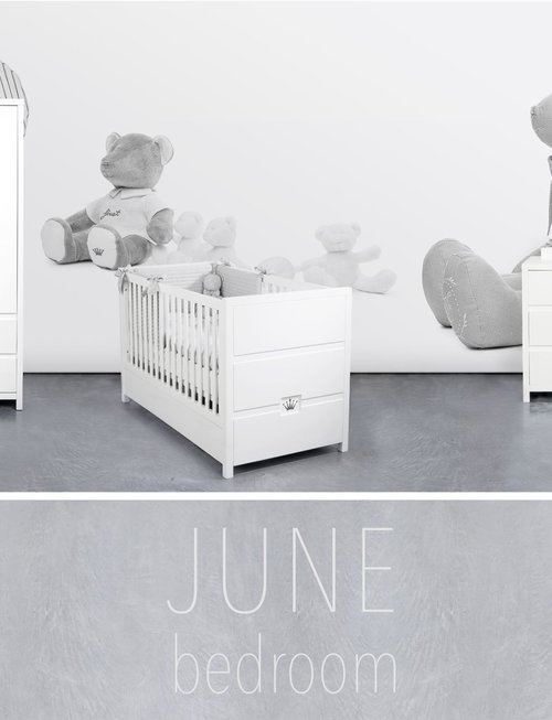 First First Bed June L140 x W70 x H92