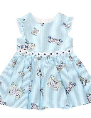 Natini Natini Jurk Butterfly Blue