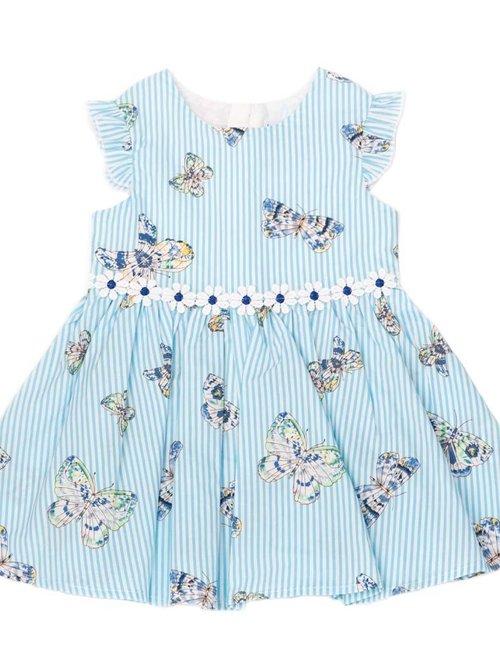 Natini Natini Jurkje Butterfly Blue