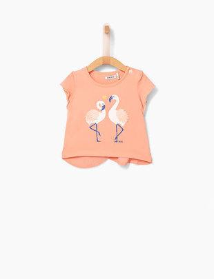 IKKS IKKS T-shirt Met Flamingo's