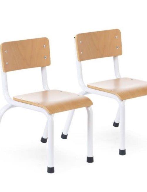 Childhome Childhome Kinderstoelen metaal/Hout 2 stuks