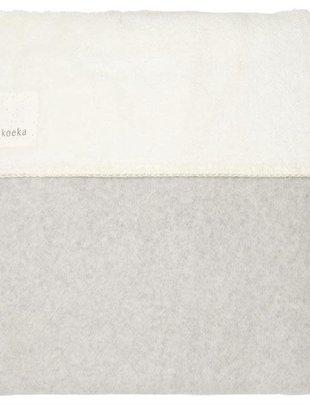 Koeka Koeka Deken Vancouver Teddy Dark Grey  75 x 100