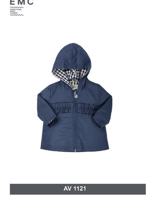 EMC EMC Vest Donkerblauw Voor Meisjes