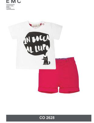 EMC EMC  Setje T-shirt & Short Voor Jongens