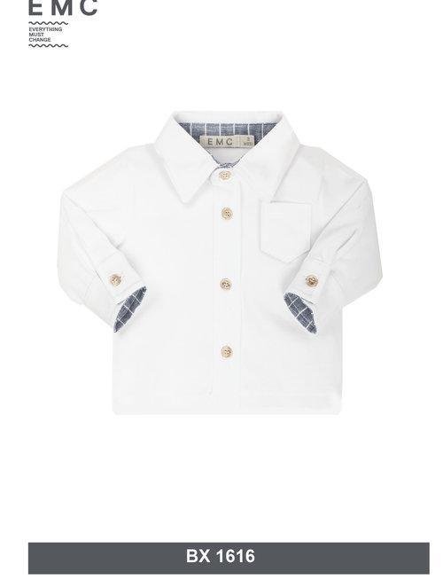 EMC EMC Hemd Wit Voor Jongens