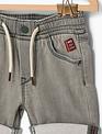 IKKS IKKS Short Grey Jeans Voor Jongens