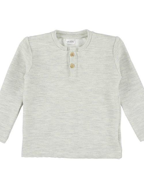 Les Rêves d'Anaïs Les Rêves d'Anaïs T-shirt Lange Mouwen Powder Stripes