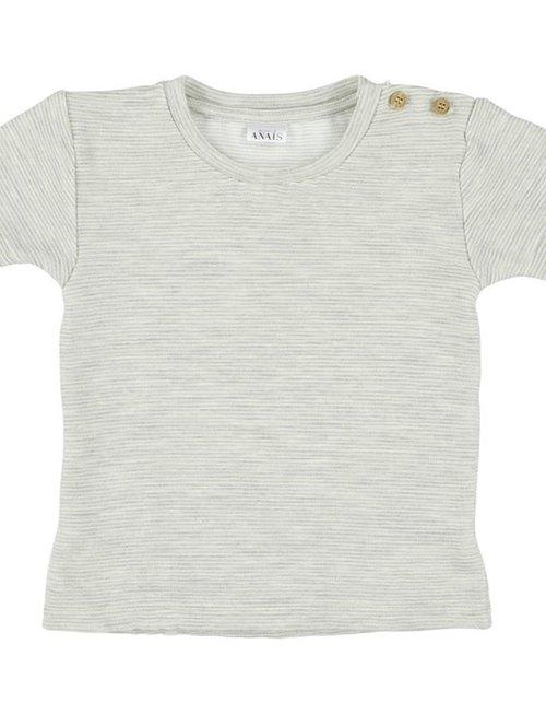 Les Rêves d'Anaïs Les Rêves d'Anaïs T-shirt Korte Mouwen Powder Stripes
