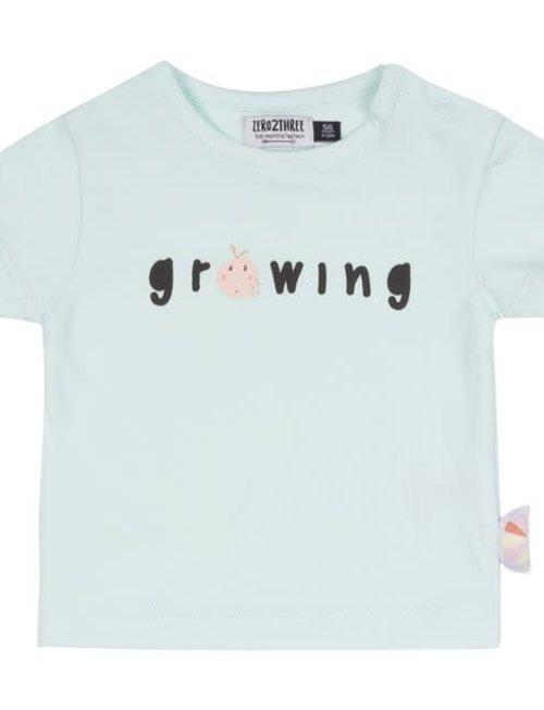 Zero2Three Zero2Three T-shirt Growing