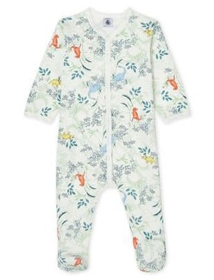 Petit Bateau Petit Bateau Pyjama Met Dierenprint