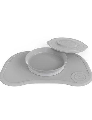 Twistshake Twistshake Klikmat +Bord Pastel Grey
