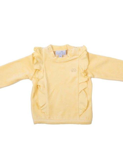 Natini Natini Sweater Girls Spons Yellow
